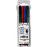 Marvy Uchida - Color In - Markers - Fine Point - Primary - 4 Pack