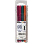 Marvy Uchida - Color In - Markers - Fine Point - Bright - 4 Pack