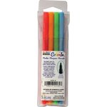 Marvy Uchida - Color In - Markers - Fine Point - Neon - 4 Pack