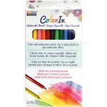Marvy Uchida - Color In - Watercolor Pencils - 12 Pack