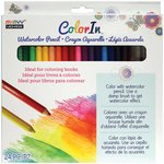 Marvy Uchida - Color In - Watercolor Pencils - 24 Pack