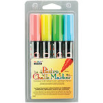SRM Press - Bistro Chalk Markers - 6mm Tip - Fluorescent - 4 Pack