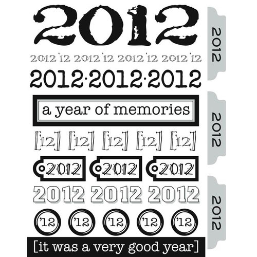 SRM Press Inc. - Stickers - Year of Memories - 2012