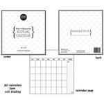 SRM Press Inc. - 12 x 12 Blank Keepsake Calendar - Year of Memories