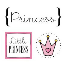 SRM Press Inc. - Card Collection - Stickers - Quick Cards - Princess