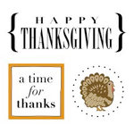 SRM Press Inc. - Card Collection - Stickers - Quick Cards - Thanksgiving