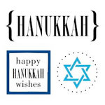 SRM Press Inc. - Card Collection - Stickers - Quick Cards - Hanukkah