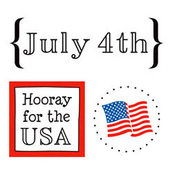 SRM Press Inc. - Card Collection - Stickers - Quick Cards - July 4th