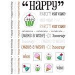 SRM Press Inc. - Stickers - Happy