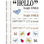 SRM Press Inc. - Stickers - Hello