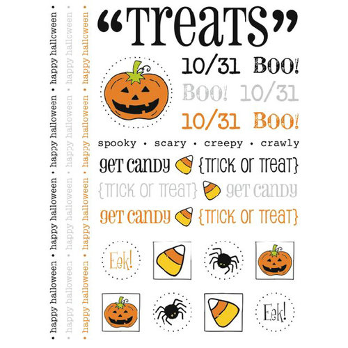 SRM Press Inc. - Halloween - Stickers - Treats