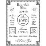SRM Press Inc. - Card Collection - Stickers - Fancy Sentiments - Love