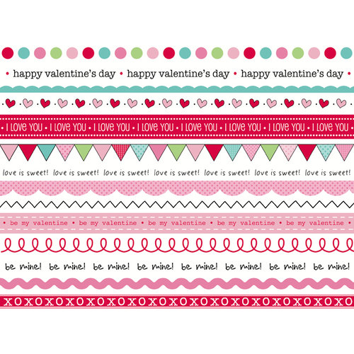 SRM Press Inc. - Stickers - We've Got Your Border - Valentine