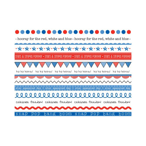 SRM Press Inc. - Stickers - We've Got Your Border - Patriotic