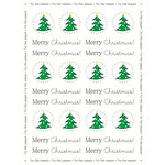 SRM Press Inc. - Stickers - By the Dozen - Christmas