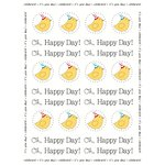 SRM Press Inc. - Stickers - By the Dozen - Birthday Birdie