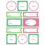 SRM Press Inc. - Stickers - Labels by the Dozen - Christmas