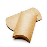 SRM Press Inc. - Kraft Pillow Boxes - Large - Set of 12
