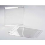 SRM Press - Square 5 x 5 Card Box - Clear - 12 pack