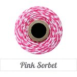 The Twinery - Bakers Twine - Pink Sorbet