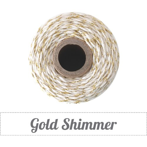 The Twinery - Bakers Twine - Gold Shimmer
