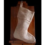 SRM Press - Burlap Stocking - Natural