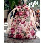 SRM Press - Floral Bags - Pink