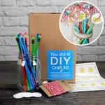 SRM Press Inc. - DIY Craft Kit - Birthday Pencils in Mason Jar