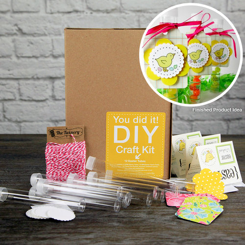 SRM Press Inc. - DIY Craft Kit - Easter Tubes