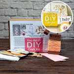 SRM Press Inc. - DIY Craft Kit - Baby Girl Clear Shower Purse