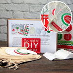 SRM Press Inc. - DIY Craft Kit - Christmas Muslin Bag
