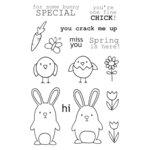 SRM Press - Jane's Doodles Stamp - Springtime