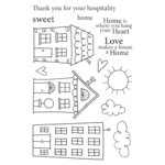 SRM Press - Jane's Doodles Stamp - Neighborhood