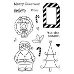 SRM Press - Christmas - Jane's Doodles Stamp - 'Tis the Season