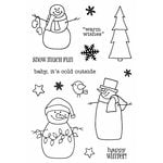 SRM Press - Jane's Doodles Stamp - Warm Wishes