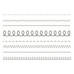 SRM Press - Clear Acrylic Stamps - Stamped Stitches