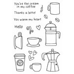 SRM Press - Jane's Doodles Stamp - Coffee Time