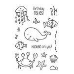 SRM Press - Jane's Doodles Stamp - Under the Sea