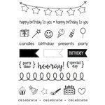 SRM Press - Planner - Clear Acrylic Stamps - Birthday Plans
