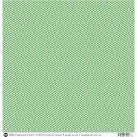 SRM Press - 12 x 12 Patterned Vinyl - Matte - Chevron - Green