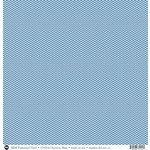 SRM Press - 12 x 12 Patterned Vinyl - Matte - Chevron - Blue
