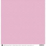 SRM Press - 12 x 12 Patterned Vinyl - Matte - Chevron - Pink