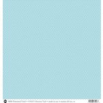 SRM Press - 12 x 12 Patterned Vinyl - Matte - Chevron - Turquoise