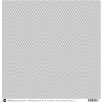 SRM Press - 12 x 12 Patterned Vinyl - Matte - Chevron - Grey