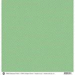 SRM Press - 12 x 12 Patterned Vinyl - Matte - Stripes - Green