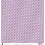 SRM Press - 12 x 12 Patterned Vinyl - Matte - Stripes - Purple
