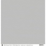 SRM Press - 12 x 12 Patterned Vinyl - Matte - Stripes - Grey
