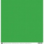 SRM Press - 12 x 12 Patterned Vinyl - Matte - Dots - Green