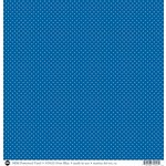 SRM Press - 12 x 12 Patterned Vinyl - Matte - Dots - Blue
