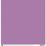 SRM Press - 12 x 12 Patterned Vinyl - Matte - Dots - Purple